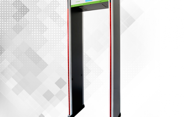 Arco Detector de Metales de 18 Zonas / Sensor IR / Contador de personas / Pantalla LCD 5.7 IN / Fácil de programar mediante Control Remoto